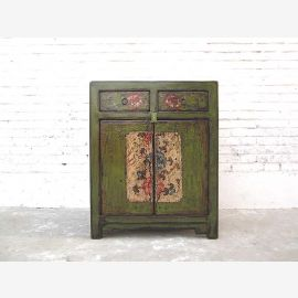 Asia green dresser floral paintings only Luxury Park