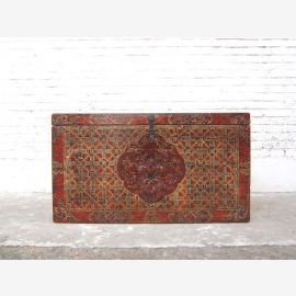 Asia beautiful chest Tibet antique painting three interiors only by  Luxury Park
