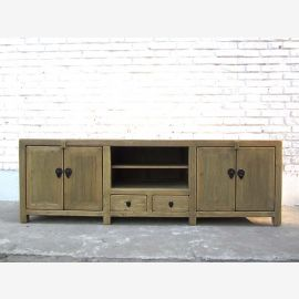 China gray TV Lowboard wood color only by  Luxury Park