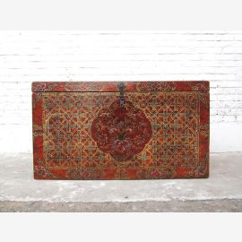 Cat Hygiene magnificent chest Tibet antique painting three interior dapartments only by  Luxury Park