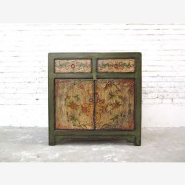 Cat Hygiene green dresser rustic decorative motifs Tibet access right only  by  Luxury Park