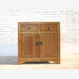Cat litter box drawers Chest country style natural wood look only by  China Luxury Park