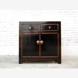 Cat Hygiene drawers Chest classical China Optics black lacquer only by  Luxury Park