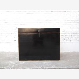 China Katzenklosett chest colonial style black lacquer metal fitting only by  Luxury Park