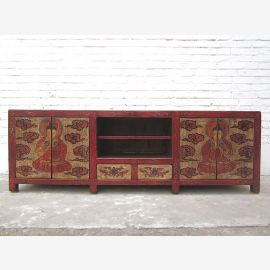 Cat litter box in Lowboard Tibet antique painting input on both sides only by  Luxury Park