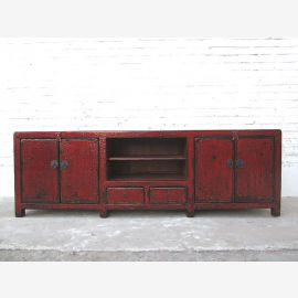 Cat litter box in dresser antique look maroon used look Two inputs only by  Luxury Park