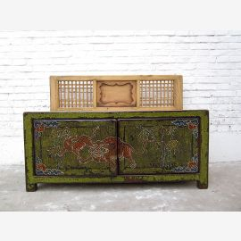 Cat Hygiene green banking dresser decorative tiger motif Tibet access right only  by  Luxury Park