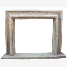 Fireplace Bruxelles Marble Sandstone Look Art Deco
