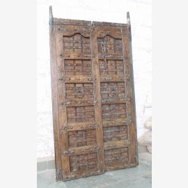 India solid door antique Teak VI-ED-020