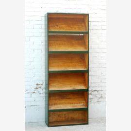 China bookcase shelf poplar with 6 shelves