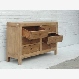 Elm chest of drawers sideboard Shanxi 1810